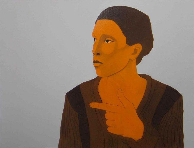 Olivier Moulard _ Huile sur toile _ série An 1 _ 2011